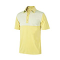 Monterey Club Ultimate Pinstripe Contrast Polo Shirt