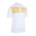 Monterey Club Rocco Stripe Contrast Polo Shirt