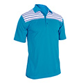Monterey Club Gilbert Stripe Contrast Polo Shirt
