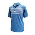 Monterey Club Lucas Stripe Contrast Polo Shirt