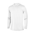 Monterey Club Solid Jersey Long Sleeve Crew Shirt