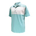 Monterey Club Flash Element Contrast Polo Shirt