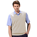 Monterey Club Classic Midweight Knit V-Neck Vest