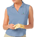 Monterey Club Performance Jersey Solid Polo Sleeveless