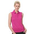 Monterey Club Ultimate Solid Polo Sleeveless
