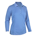 Monterey Club Ultimate Solid Polo Long Sleeve