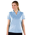 Monterey Club Stripe Texture Solid Polo Shirt