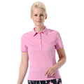 Monterey Club Glory Texture Solid Polo Shirt