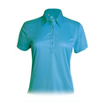 Monterey Club Blade Texture Solid Polo Shirt