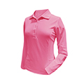 Monterey Club Victory Pro Solid Polo Long Sleeve