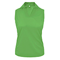 Monterey Club Ultimate Solid Sport Shirt Sleeveless
